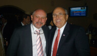 Neal with Rudy Giuliani