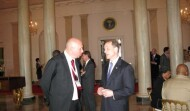 Neal Asbury and SBA Administrator, Steve Preston at the White House