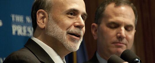 Bernanke Is Addicted to Morphine Economics