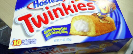 Choking on a Twinkie